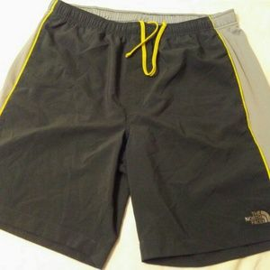 """The north face shorts size L 10"""" inseam"""